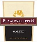 蓝岩精选品种马尔贝克干红葡萄酒(Blaauwklippen Cultivar Selection Malbec,Stellenbosch,South ...)