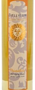 贝尔维尤克里斯塔利纳威代尔甜型冰白葡萄酒(Bellview Winery Cristallina Vidal Blanc,Outer Coastal Plain,...)