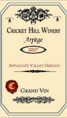 蟋蟀山永恒之音梅洛品丽珠混酿红葡萄酒(Cricket Hill Winery Arpège,Oregon,USA)