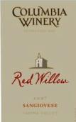 哥伦比亚大卫湖签名系列红柳树葡萄园桑娇赛维干红葡萄酒(Columbia Winery David Lake Signature Series Red Willow Vineyard Sangiovese, Yakima Valley, USA)