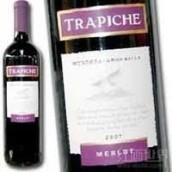翠帝酒庄梅洛干红葡萄酒(Trapiche Merlot, Mendoza, Argentina)