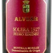 维尔酒庄佩德罗一希梅内斯索莱拉 1927甜型葡萄酒(Alvear Pedro Ximenez Solera 1927,Montilla-Moriles,Spain)