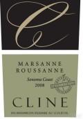 赛琳酒庄玛珊-瑚珊干红葡萄酒(Cline Cellars Marsanne-Roussanne,Sonoma Coast,USA)