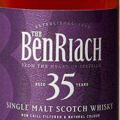 本利亚克35年苏格兰单一麦芽威士忌(BenRiach Aged 35 Years Single Malt Scotch Whisky,Speyside,UK)