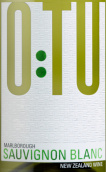 优途酒庄长相思干白葡萄酒(O:TU Sauvignon Blanc,Marlborough,New Zealand)