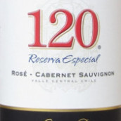 桑塔丽塔120特别珍藏桃红葡萄酒(Santa Rita 120 Reserva Especial Rose,Central Valley,Chile)