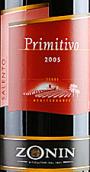 卓林普里米蒂沃干红葡萄酒(Zonin Primitivo,Sicily,Italy)
