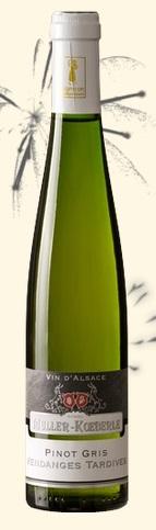 米勒-库伯迟摘灰皮诺甜白葡萄酒(Domaine Muller-Koeberle Vendanges Tardives Pinot Gris,Alsace...)