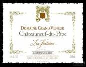 阿兰豪大猎人园流泉干白葡萄酒(Alain Jaume & Fils Domaine Grand Veneur La Fontaine Blanc, Chateauneuf-du-Pape, France)