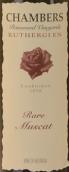 钱伯斯限量麝香甜白葡萄酒(Chambers Rosewood Vineyards Rare Muscat, Rutherglen, Australia)