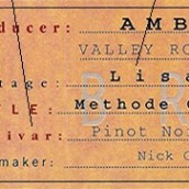 安贝鲁丽萨霞多丽-黑皮诺起泡酒(Ambeloui Lisa Chardonnay-Pinot Noir,Valley Road Hout-Bay,...)