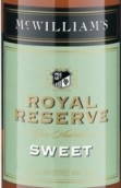 麦克威廉皇家珍藏阿佩罗甜型加强酒(McWilliam's Royal Reserve Sweet Apera,South Eastern ...)