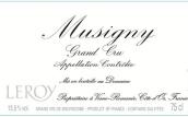 勒桦酒庄(慕西尼特级园)干红葡萄酒(Domaine Leroy Musigny Grand Cru,Cote de Nuits,France)