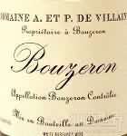 维兰酒庄(布宏哲村)干白葡萄酒(Domaine A. & P. de Villaine Bouzeron, Cote Chalonnaise, France)