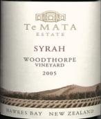德迈伍德索普西拉红葡萄酒(Te Mata Estate Woodthorpe Syrah, Hawke's Bay, New Zealand)