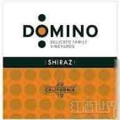 德利卡多米诺西拉干红葡萄酒(Delicato Family Vineyards Domino Shiraz,California,USA)
