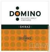 德利卡多米诺西拉干红葡萄酒(Delicato Family Vineyards Domino Shiraz,California,USA)