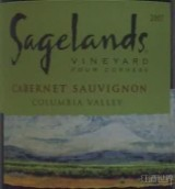 圣兰赤霞珠干红葡萄酒(Sagelands Vineyard Cabernet Sauvignon, Columbia Valley, USA)