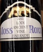 豪客加州金熊老藤仙粉黛干红葡萄酒(Oak Ridge Winery Moss Roxx Ancient Vine Zinfandel,Lodi,USA)