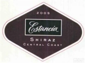 埃斯坦西亚西拉干红葡萄酒(Estancia Estates Shiraz,Central Coast,USA)