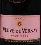 维尔奈干型桃红起泡酒(Veuve du Vernay Brut Rose,France)
