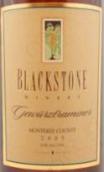 黑石酒庄蒙特利琼瑶浆干白葡萄酒(Blackstone Gewurztraminer, Monterey County, USA)
