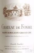 芳贝尔酒庄红葡萄酒(Chateau de Fonbel, Saint-Emilion Grand Cru, France)