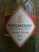 若诗庄园琼瑶浆-雷司令干白葡萄酒(Rosemount Estate Traminer-Riesling, Australia)