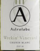 星盘庄园比肯山园白诗南白葡萄酒(Astrolabe Vineyards Wrekin Vineyard Chenin Blanc,Marlborough...)