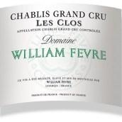 威廉·费尔克罗丝夏布利特级园干白葡萄酒(Domaine William Fevre Les Clos Chablis Grand Cru, Chablis, France)