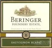 贝灵哲创始园长相思干白葡萄酒(Beringer Founders Estate Sauvignon Blanc,California,USA)