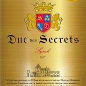 Les Secrets du Duc Syrah, IGP Pays d'Oc, France