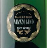马佐利诺酒庄白中白起泡酒(Tenuta Mazzolino Blanc de Blancs, Lombardy, Italy)