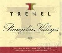 特纳酒庄博若莱村庄红葡萄酒(Trenel Beaujolais Villages,Beaujolais,France)