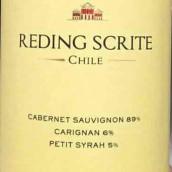 雷丁混酿干红葡萄酒(Reding Scrite Red Blend,Maipo Valley,Chile)