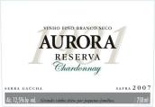 奥罗拉珍藏霞多丽干白葡萄酒(Aurora Reserva Chardonnay,Brazil)