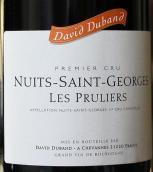 大卫杜邦酒庄普露利(夜圣乔治一级园)干红葡萄酒(Domaine David Duband Les Pruliers, Nuits-Saint-Georges Premier Cru, France)