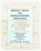 罗伯特威尔格拉芬贝格园雷司令逐粒精选甜白葡萄酒(Weingut Robert Weil Kiedricher Grafenberg Riesling ...)
