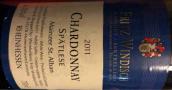 温迪施酒庄美因茨圣奥班精选霞多丽白葡萄酒(Weingut Fritz Windisch Mainzer St. Alban Chardonnay Spatlese, Rheinhessen, Germany)