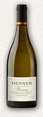 丹纳特里萨干白葡萄酒(Denner Vineyards Theresa,Paso Robles,USA)