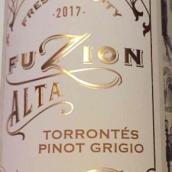 弗兹恩酒庄埃尔塔特浓情灰皮诺混酿干白葡萄酒(Fuzion Alta Torrontes-Pinot Grigio,Mendoza,Argentina)