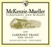 McKenzie-Mueller Cabernet Franc,Napa Valley,USA