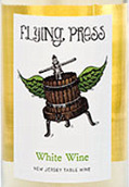 鹰港酒庄飞翔压榨机干白葡萄酒(Hawk Haven Flying Press White,New Jersey,USA)