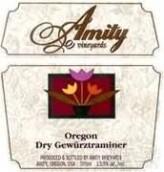 阿米蒂琼瑶浆干白葡萄酒(Amity Vineyards Dry Gewurztraminer, Willamette Valley, USA)
