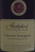 兄弟会赤霞珠干红葡萄酒(Brotherhood Winery Cabernet Sauvignon, New York, USA)