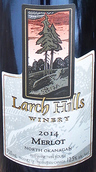 落叶松山酒庄梅洛干红葡萄酒(Larch Hills Merlot,Okanagan Valley,Canada)