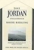 乔丹雷司令干白葡萄酒(Jordan Riesling, Stellenbosch, South Africa)