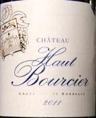 侯波希酒庄干红葡萄酒(Chateau Haut Bourcier, Cotes de Bordeaux Blaye, France)