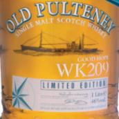 老富特尼美好希望WK209苏格兰单一麦芽威士忌(Old Pulteney Good Hope WK209 Single Malt Scotch Whisky,...)