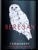 贝里森佳美娜干红葡萄酒(Beresan Carmenere, Walla Walla Valley, USA)